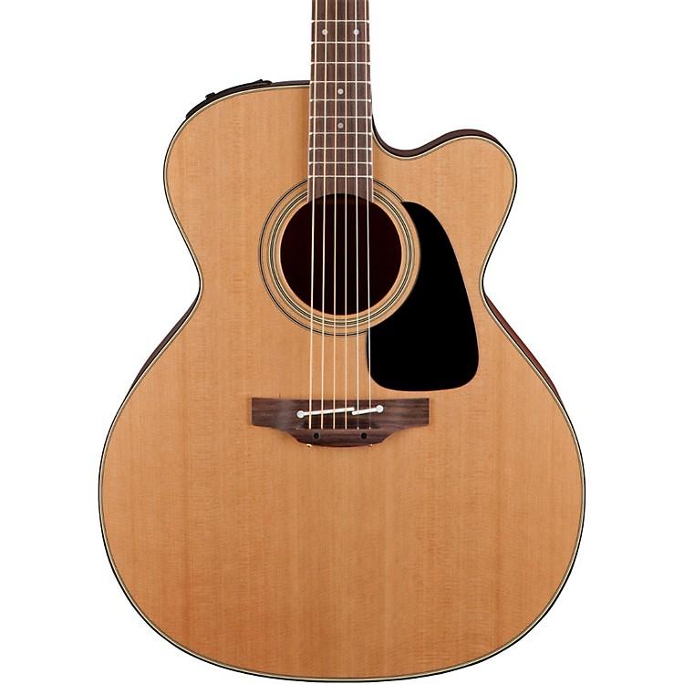 TakaminePro Series 1 Jumbo Cutaway Acoustic-Electric GuitarNatural