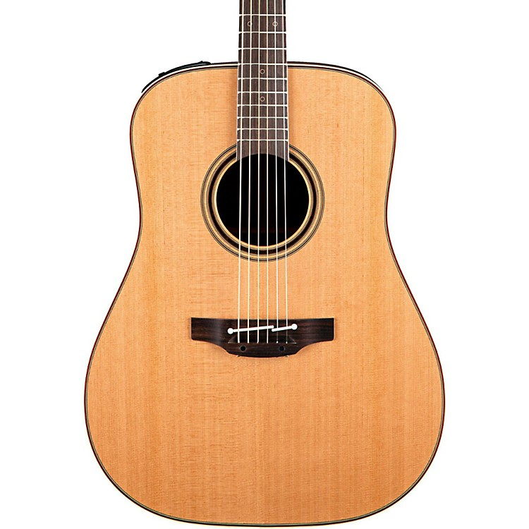 Takamine Pro Series 3 Dreadnought Acoustic Electric Guitar Natural