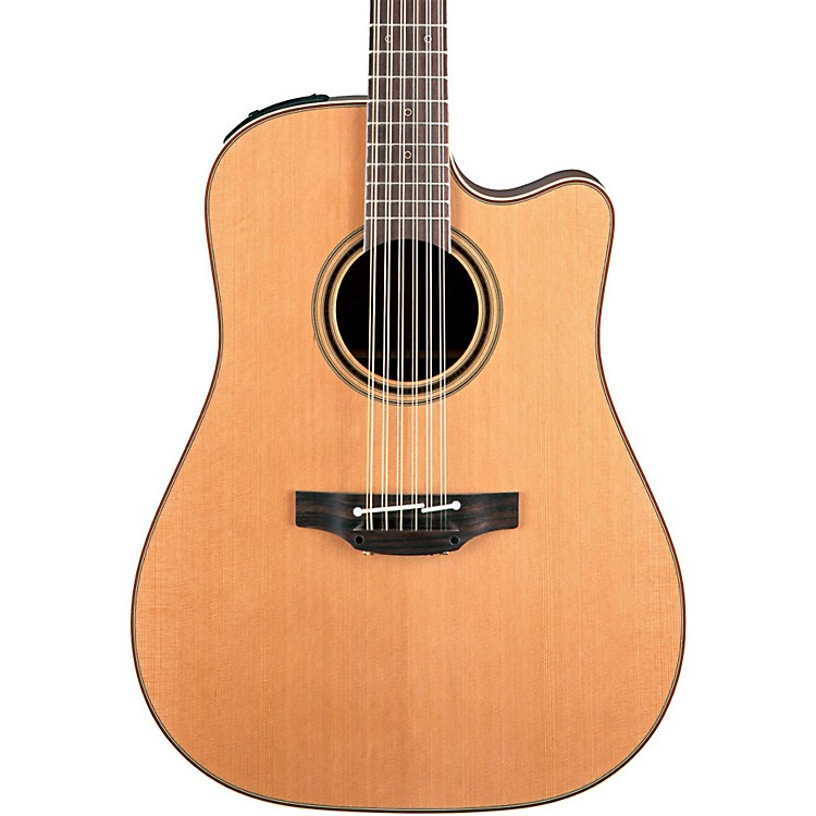 Takamine Pro Series 3 Dreadnought Cutaway 12-String Acoustic Electric Guitar Natural