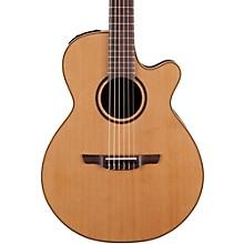 Open BoxTakamine Pro Series 3 Folk Nylon Cutaway Acoustic-Electric Guitar