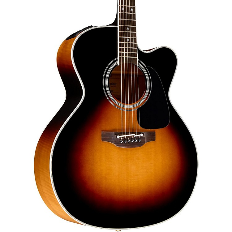 Takamine Pro Series 6 Jumbo Cutaway Acoustic-Electric Guitar Sunburst