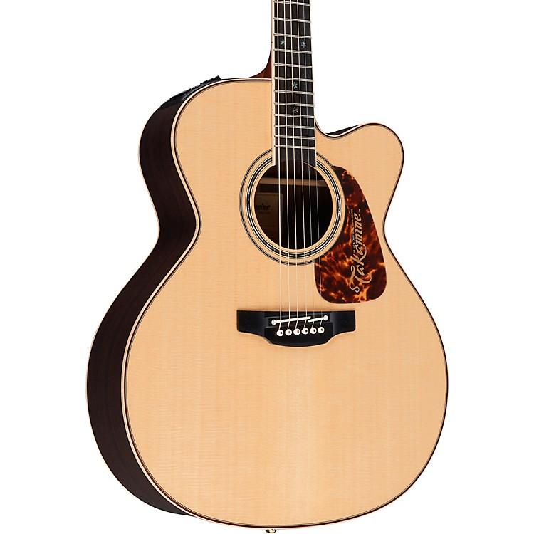 TakaminePro Series 7 Jumbo Cutaway Acoustic-Electric Guitar
