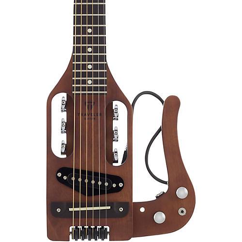 traveler guitar pro series pro brn hybrid traveler acoustic electric guitar antique brown. Black Bedroom Furniture Sets. Home Design Ideas