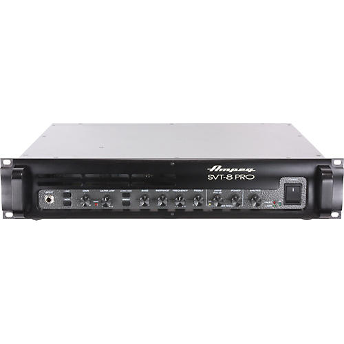 ampeg pro series svt 8pro 2500w bass amp head musician 39 s friend. Black Bedroom Furniture Sets. Home Design Ideas