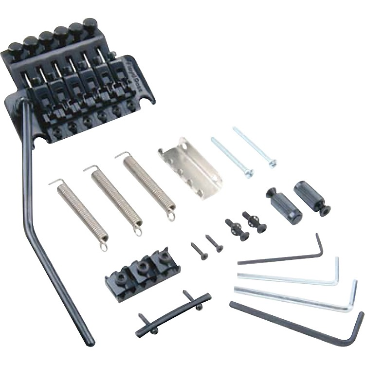 Floyd Rose Pro Series Tremolo Bridge with R3 Nut Black Nickel