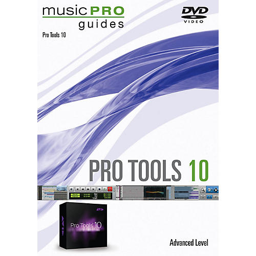 Hal Leonard Pro Tools 10 Advanced Level Music Pro Guide Series DVD-thumbnail