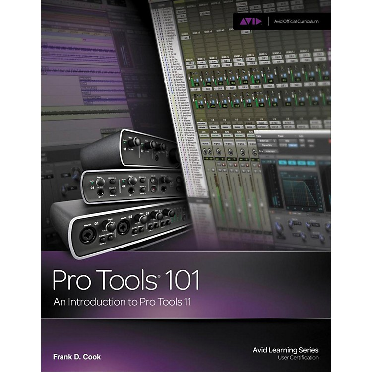 Cengage Learning Pro Tools 101: An Introduction to Pro Tools 11 BOOK/DVD