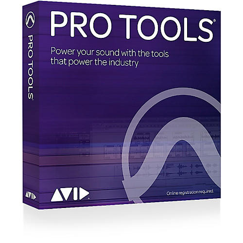 Avid Pro Tools 12 with 1-Year Upgrade Plan (Boxed Version)-thumbnail