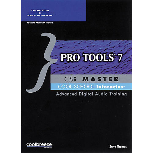 Course Technology PTR Pro Tools 7 CSI Master Cool School Interactus CD-ROM-thumbnail