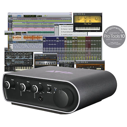 Avid Pro Tools 9 + Mbox Mini