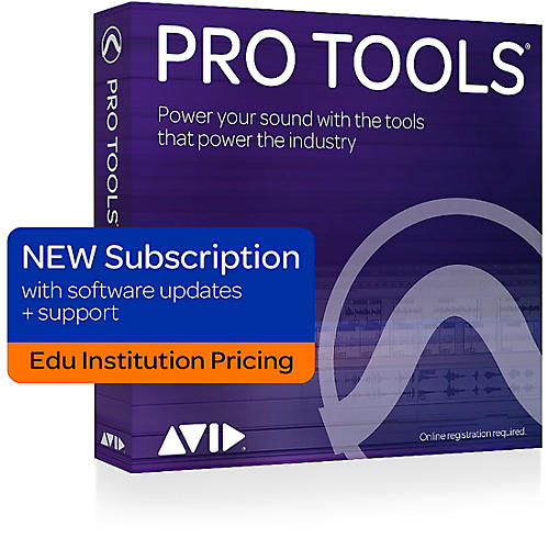 Avid Pro Tools Annual Subscription (1 Year) - Institution