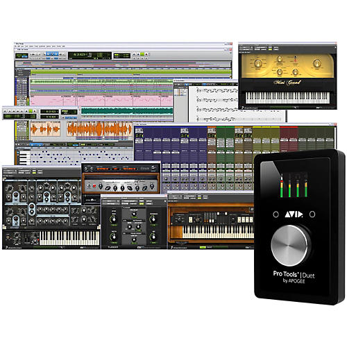 Avid Pro Tools Duet with 1-Year Pro Tools Subscription-thumbnail