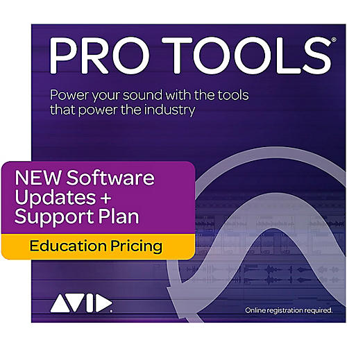 Avid Pro Tools Educational Annual Upgrade, Tech Support & Plugins Plan For Pt 12 Teacher/Student Users (Activation Card)-thumbnail