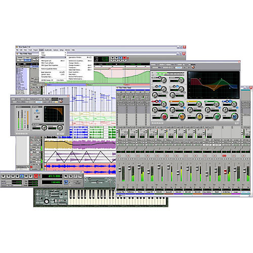 Digidesign Pro Tools LE 7 Software Upgrade PLUS Kit