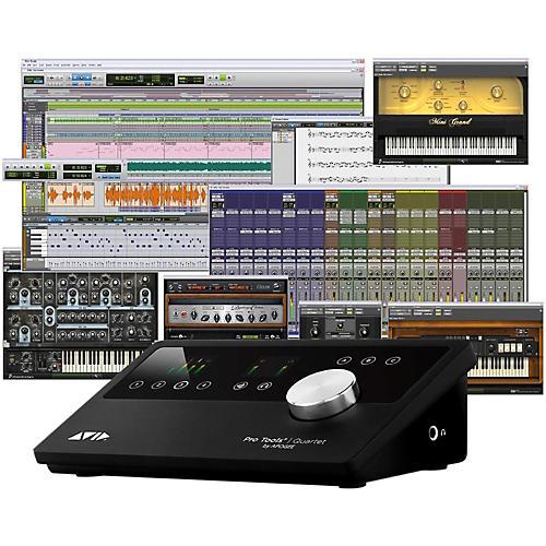 Avid Pro Tools Quartet with 1-Year Pro Tools Subscription-thumbnail