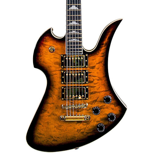 B.C. Rich Pro X Custom Special X3 Mockingbird Electric Guitar Tobacco Burst w/Gold Hardware