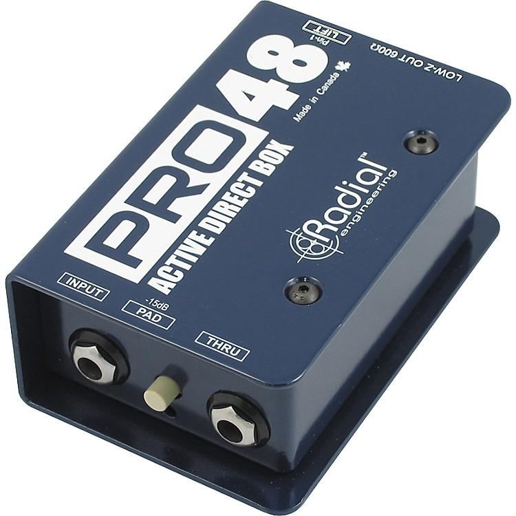 Radial EngineeringPro48 Active 48-Volt Compact Active Direct Box