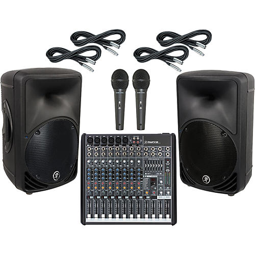 Mackie ProFX12 / SRM350 V2 PA Package