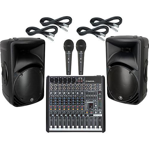 Mackie ProFX12 / SRM450 V2 PA Package-thumbnail