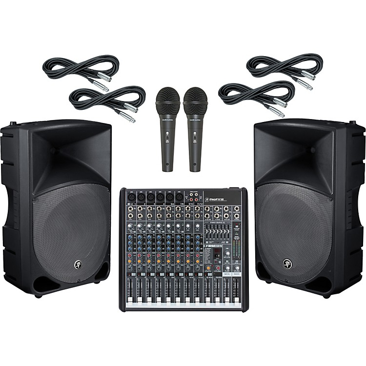 Mackie ProFX12 / TH-15A PA Package