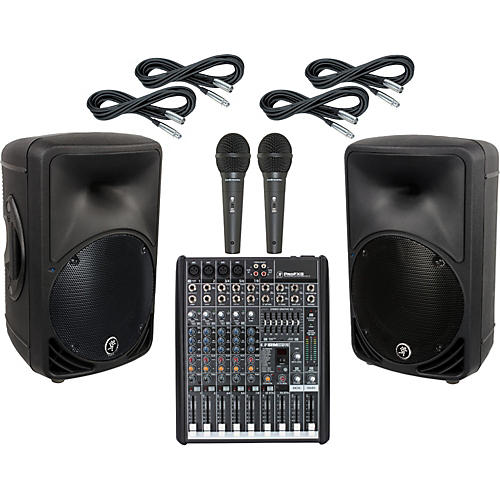 Mackie ProFX8 / SRM350 V2 PA Package
