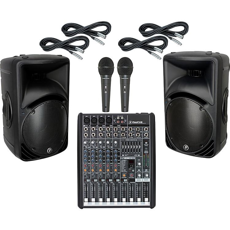 MackieProFX8 / SRM450 V2 PA Package