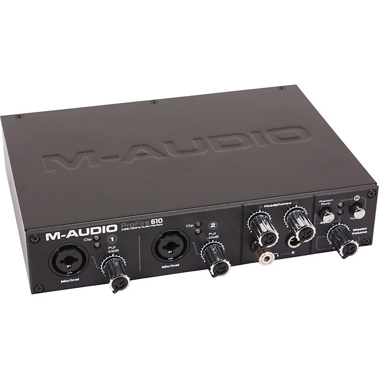 M-Audio ProFire 610 Firewire Recording Interface