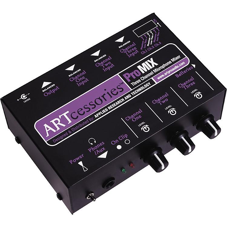 ARTProMIX 3-Channel Microphone Mixer