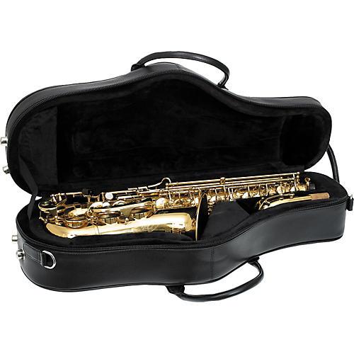 Protec ProPac Deluxe Leather Alto Saxophone Case-thumbnail