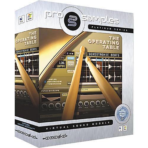 Zero G ProSamples Platinum The Operating Table