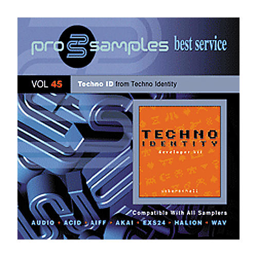 EastWest ProSamples Vol. 45 Techno ID CD-ROM