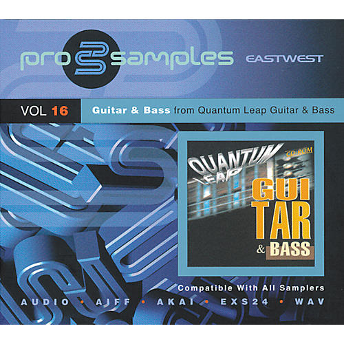 EastWest ProSamples Volume 16 Guitar and Bass CD ROM