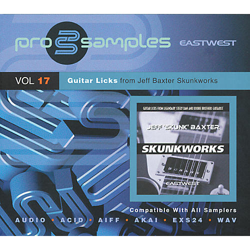 EastWest ProSamples Volume 17 Skunkworks CD ROM