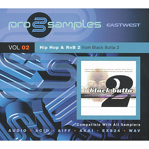 EastWest ProSamples Volume 2 Hip Hop and RnB 2 CD-ROM-thumbnail