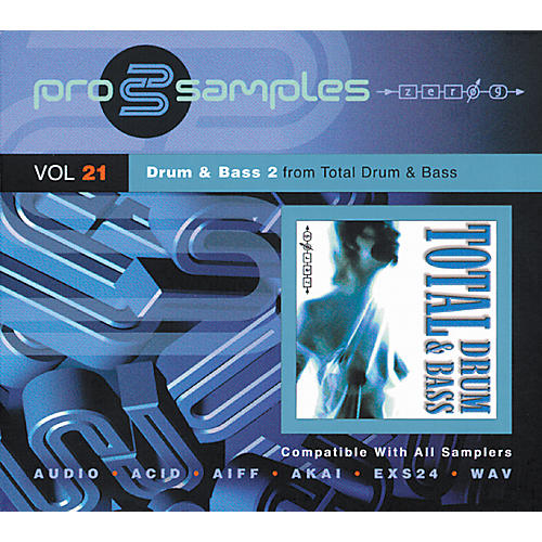 EastWest ProSamples Volume 21 Drum and Bass 2 CD-ROM