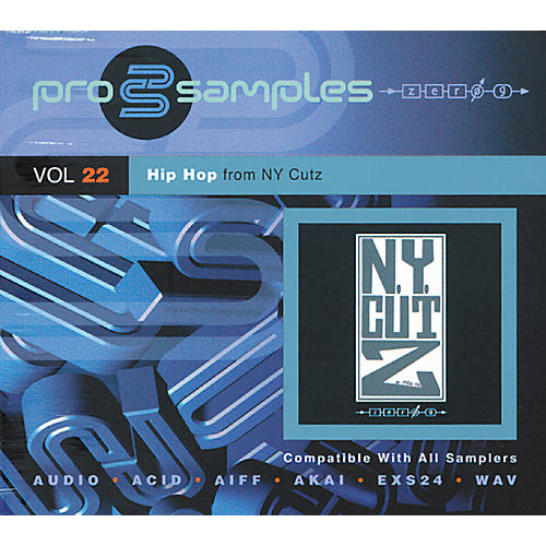 EastWest ProSamples Volume 22 Hip-Hop NY Cutz CD ROM