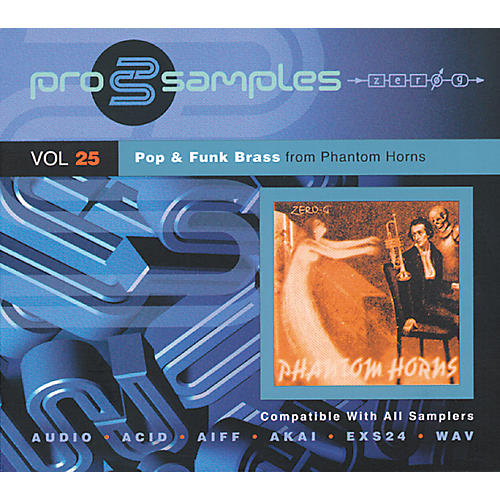 EastWest ProSamples Volume 25 Pop and Funk Brass CD ROM