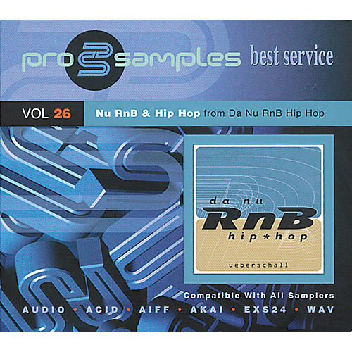 EastWest ProSamples Volume 26 Nu RNB and Hip Hop CD ROM