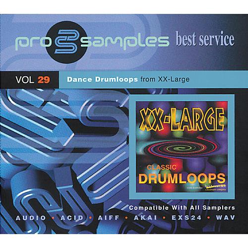 EastWest ProSamples Volume 29 Dance Drum Loops CD ROM-thumbnail