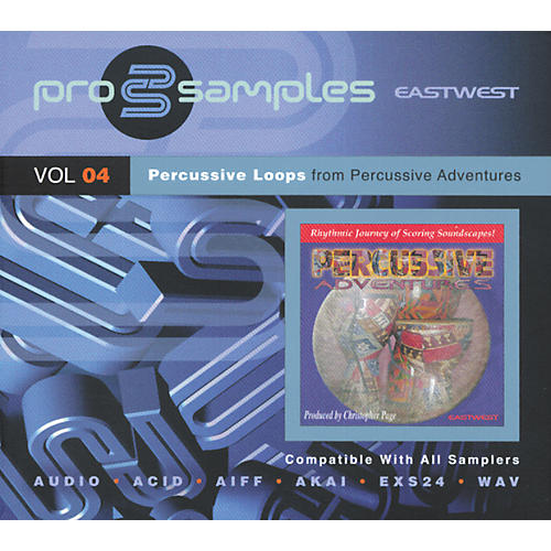 EastWest ProSamples Volume 4 Percussive Loops CD ROM-thumbnail