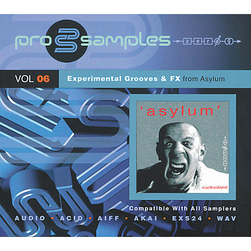 EastWest ProSamples Volume 6 Experimental Grooves and FX CD ROM