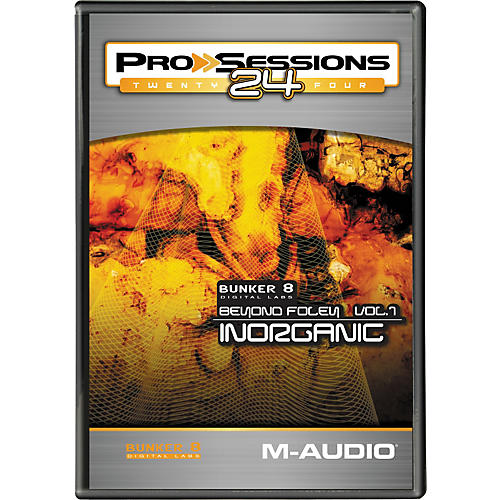 M-Audio ProSessions 24 Bunker 8 Beyond Foley Vol. 1 Inorganic-thumbnail