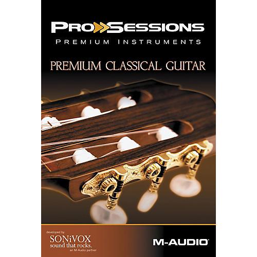 M-Audio ProSessions Premium Instruments: Classical Guitar