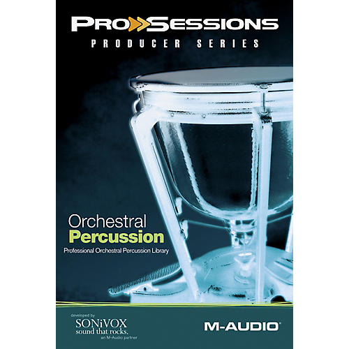 M-Audio ProSessions Producer Series: Orchestral Percussion-thumbnail