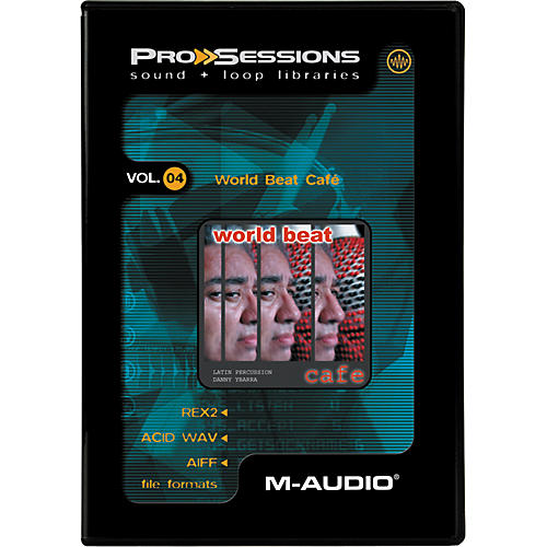 M-Audio ProSessions-Vol 4 World Beat Cafe-thumbnail