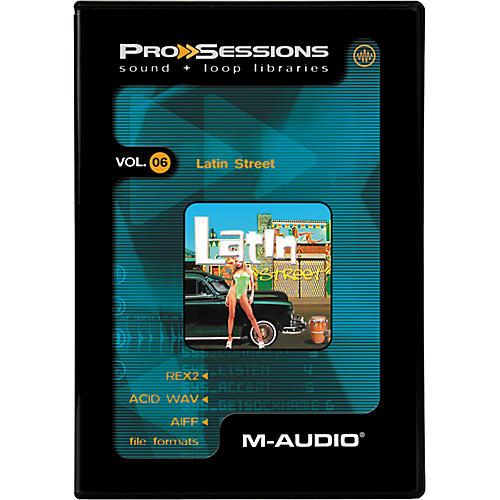 M-Audio ProSessions-Vol 6 Latin Street