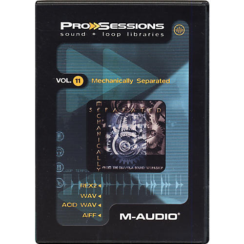 M-Audio ProSessions, Volume 11 - Mechanically Separated-thumbnail