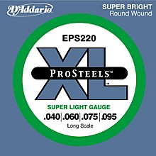 D'Addario ProSteels EPS220 Super Light Gauge Long Scale Bass Strings