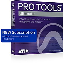 Avid ProTools 2018 HD Software Annual Subscription