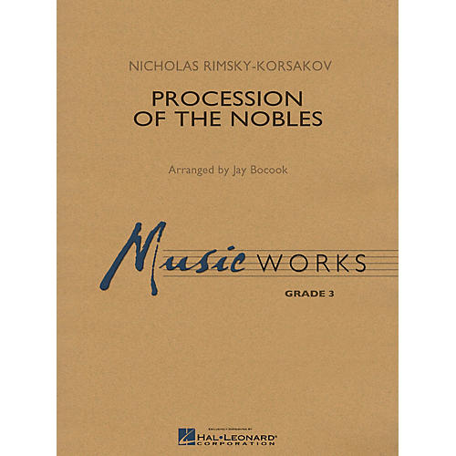 Hal Leonard Procession of the Nobles Concert Band Level 3 Arranged by Jay Bocook-thumbnail